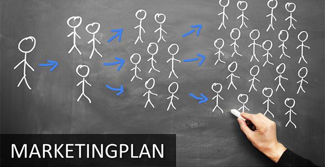 Marketingplan PowerPoint-Vorlagen von PresentationLoad