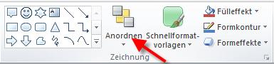 Objekte anordnen in PowerPoint2