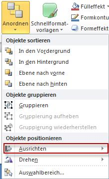 Objekte anordnen in PowerPoint3