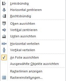 Objekte anordnen in PowerPoint4