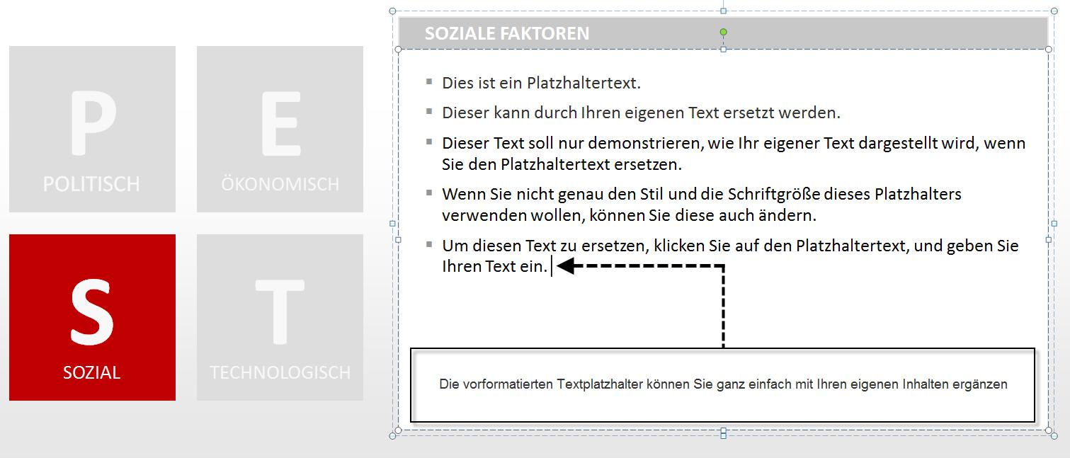 So bearbeiten Sie eine STEP-Analyse in PowerPoint - PresentationLoad ...