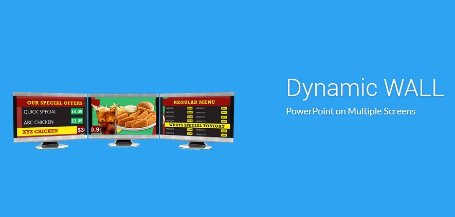PowerPoint dynamicWALL