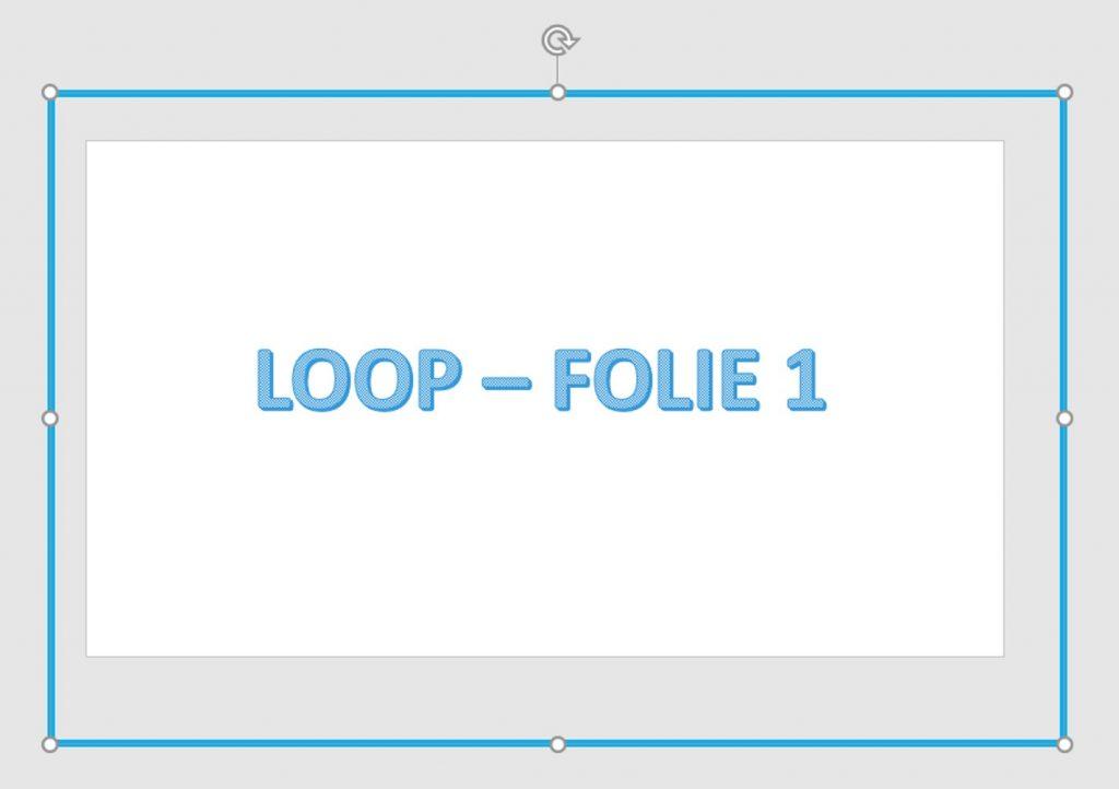 quick Loop in der Praes_Bild5