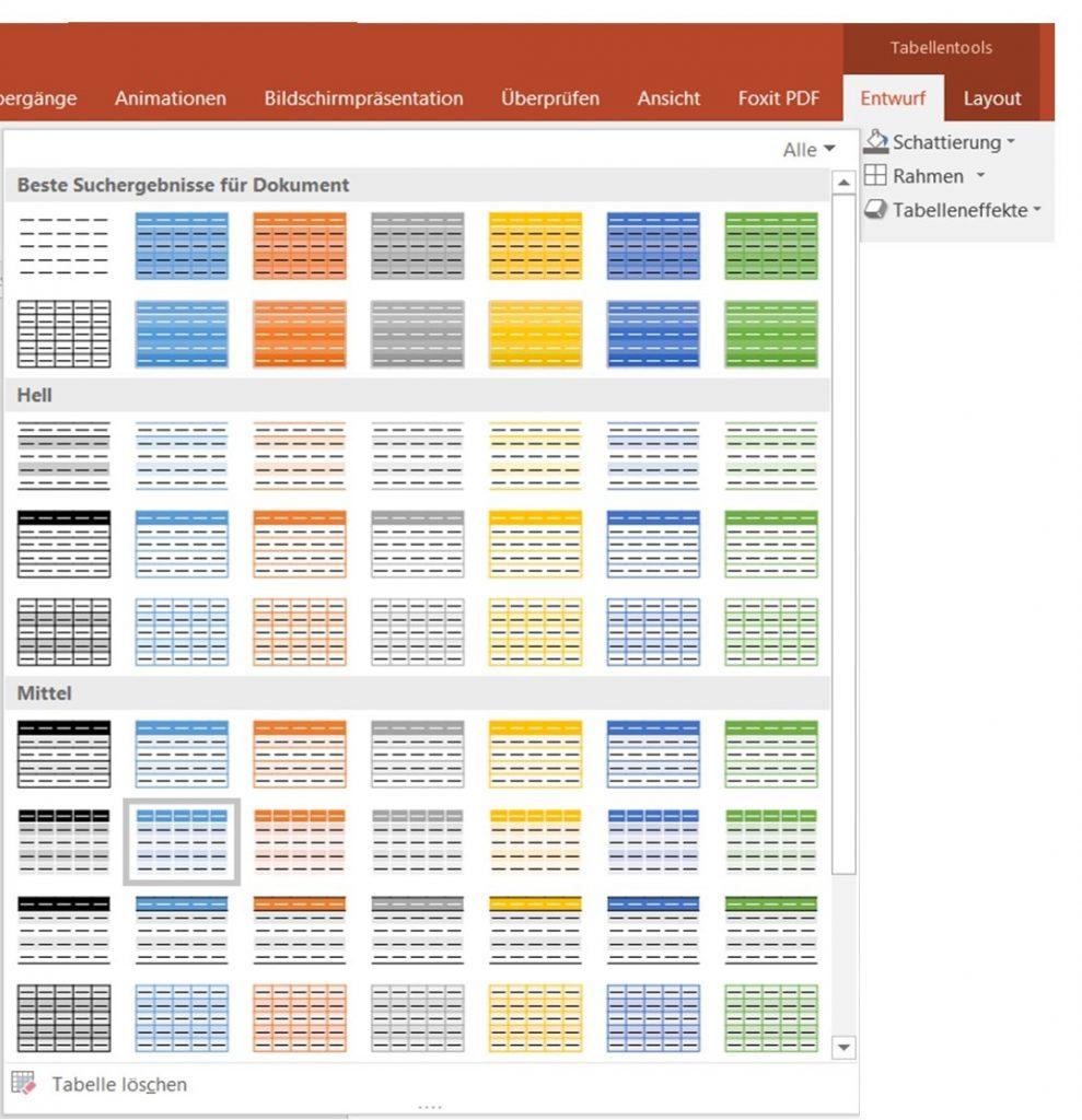 Excel-)Tabellen in PowerPoint – Teil 2 - PresentationLoad Blog