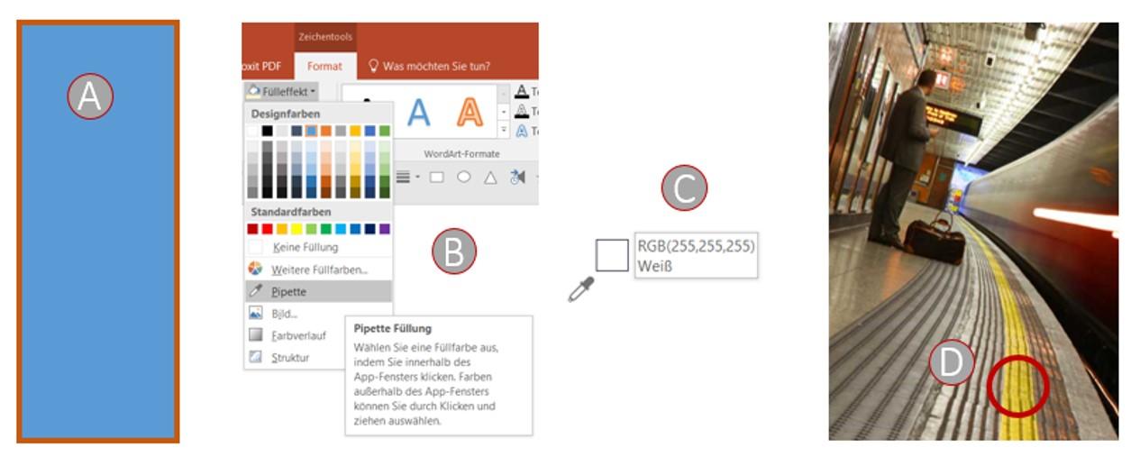 pipetten-funktion in PowerPoint