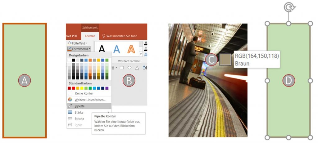 pipetten-funktion in powerpoint fü externe bilder