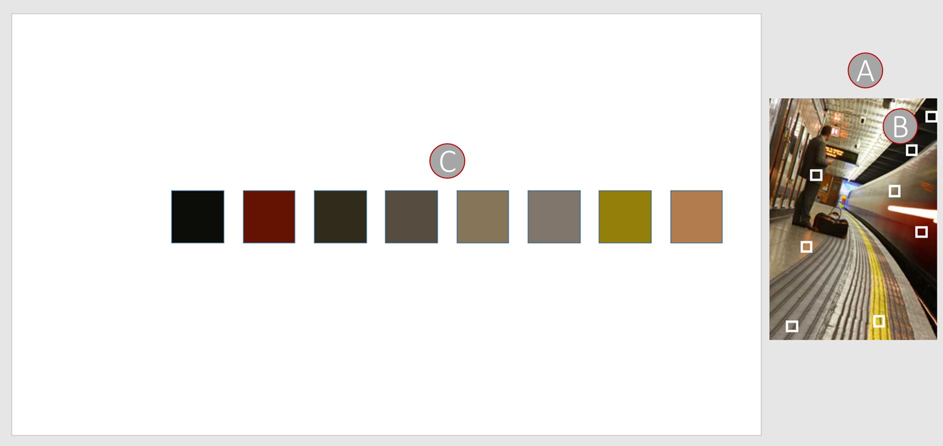 Farbschemata mit Pipette in PowerPoint