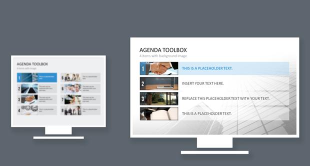 Beispiel 16:9-Format bei PowerPoint