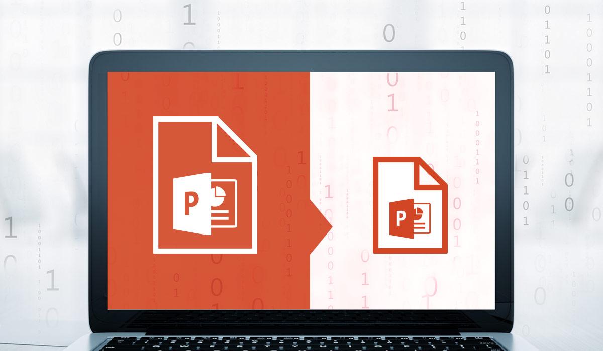 So verkleinern Sie die Dateigröße Ihrer PowerPoint-Präsentation ...