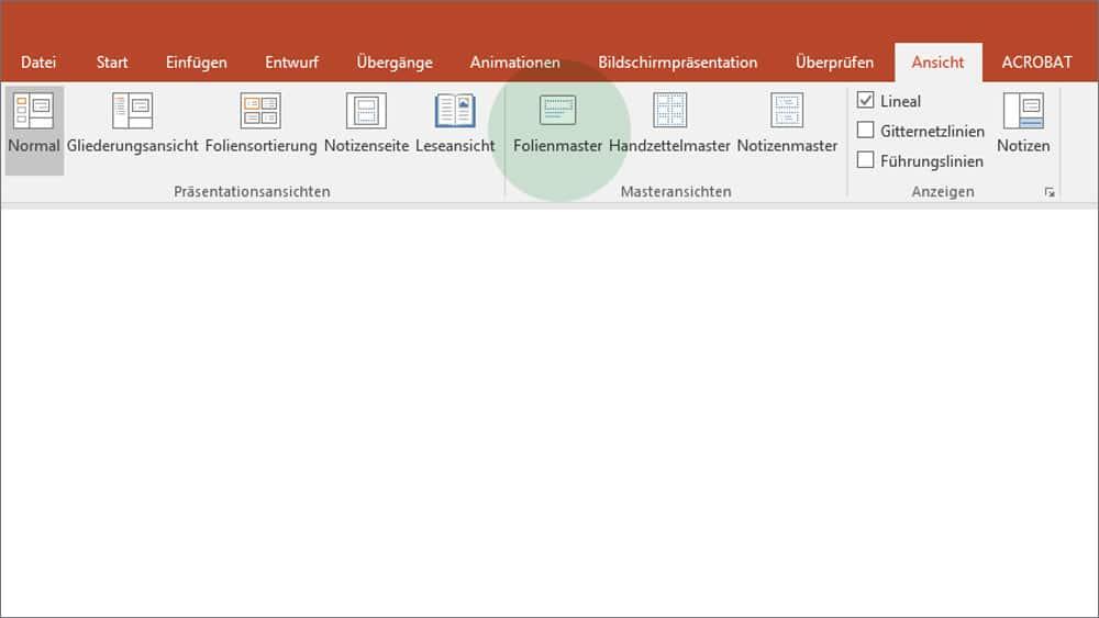 Warum jeder PowerPoint-Nutzer einen Folienmaster haben sollte ...