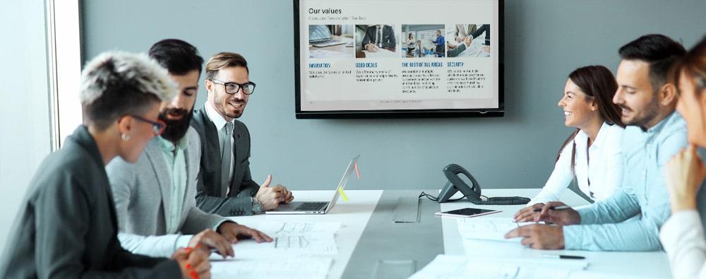 Unternehmenspräsentation PPT
