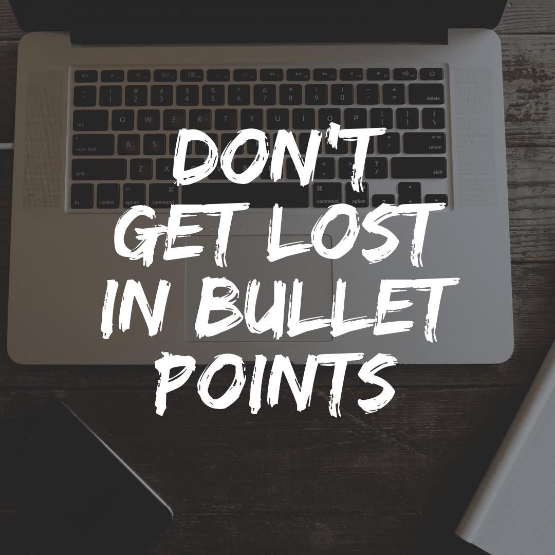 Bullet-Points in PowerPoint