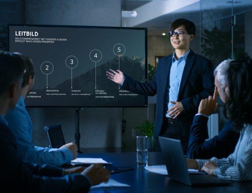 PowerPoint-Präsentationen auf dem Fernseher