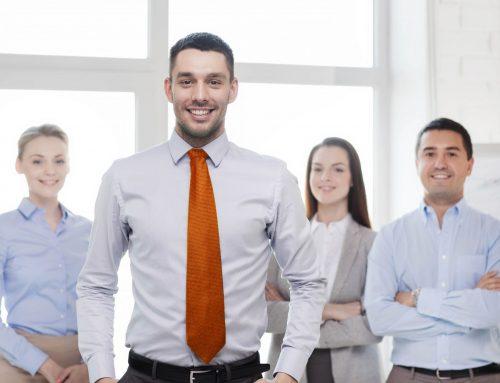 Teamvorstellung in Firmenpräsentationen