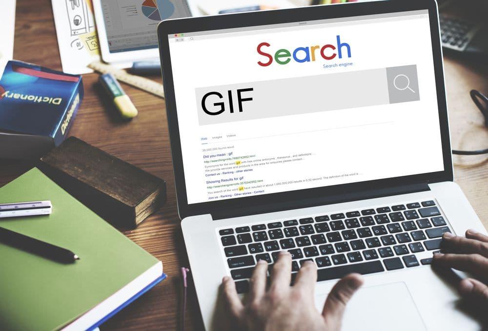 GIf in Powerpoin einfügen, Suche im Web