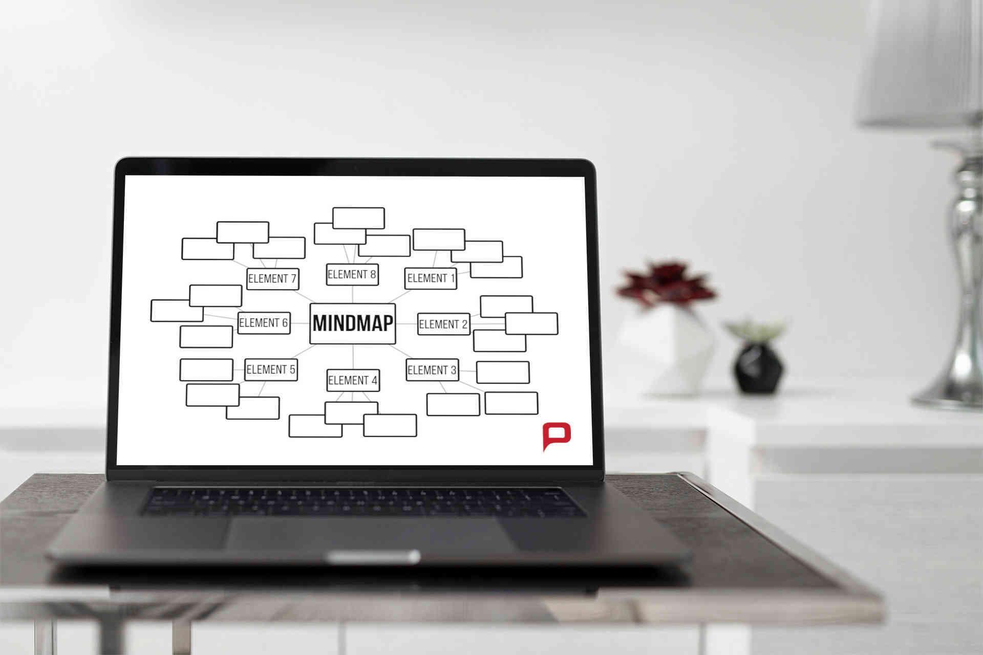 PowerPoint MindMap, So erstellen sie eine MindMap in PPT