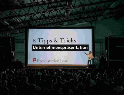 Worauf es bei Unternehmenspräsentationen ankommt: 8 Tipps und Tricks