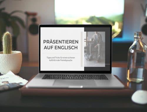 Herausforderung: Präsentation auf Englisch? So meistern Sie den Vortrag!