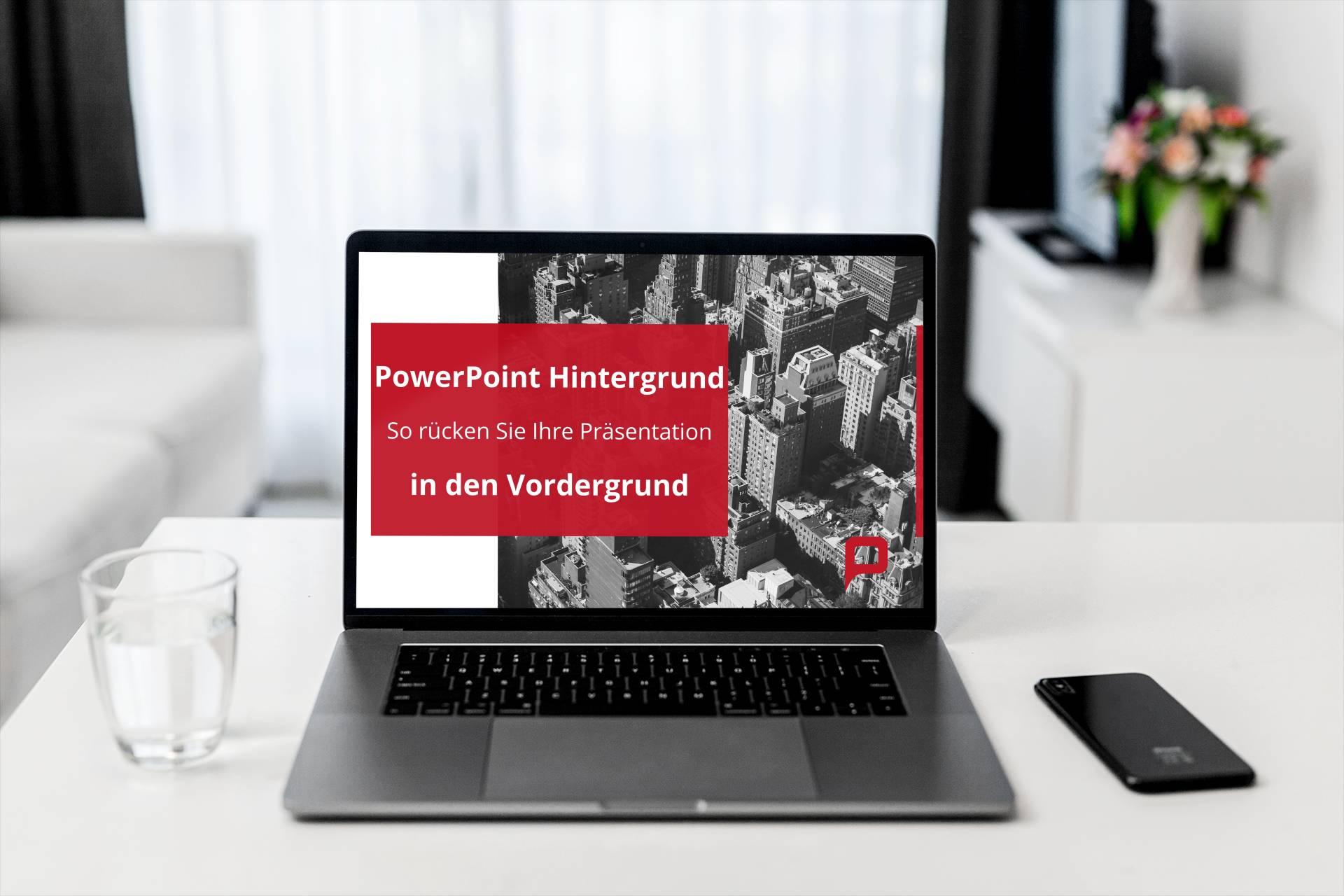PowerPoint-Hintergrund Titel