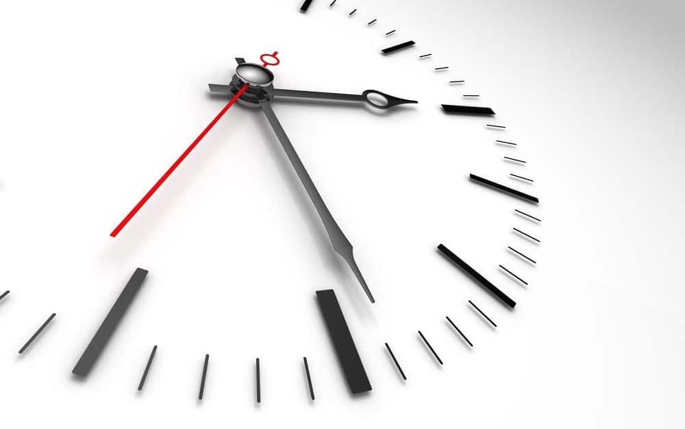 Aktuelle Uhrzeit PPT einstellen
