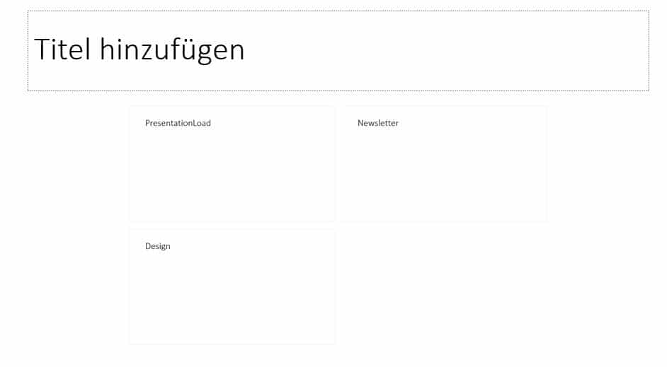 PoweRPoint Inhaltsverzeichnis Zoom4