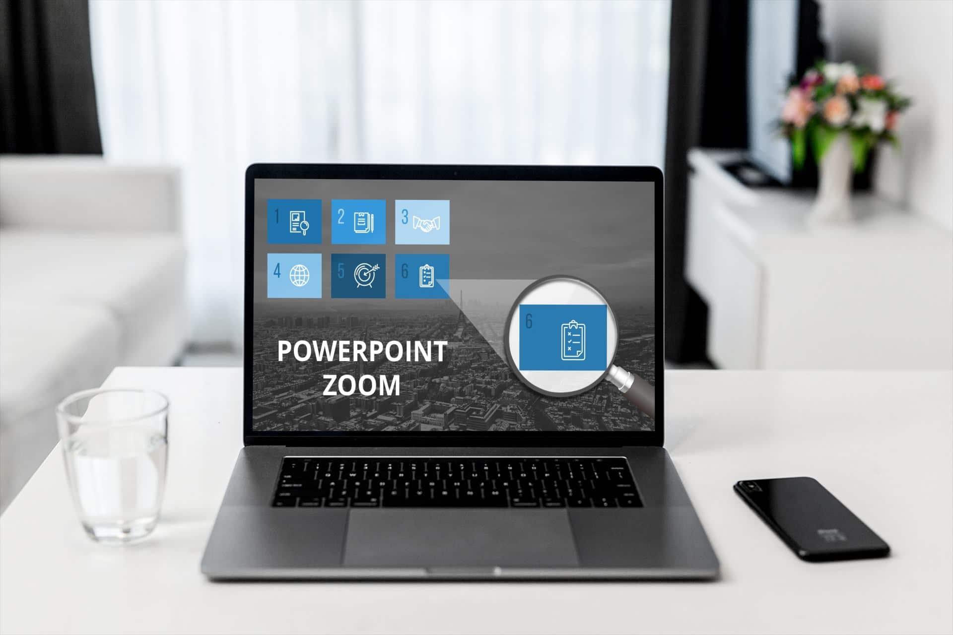 PowerPoint-Zoom Titel