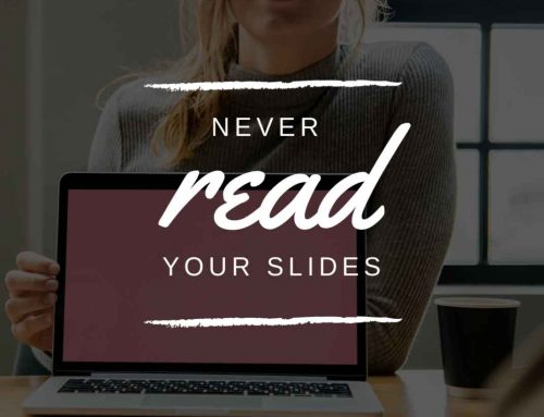 ❌ Lesen Sie niemals Ihre PowerPoint-Folien vor