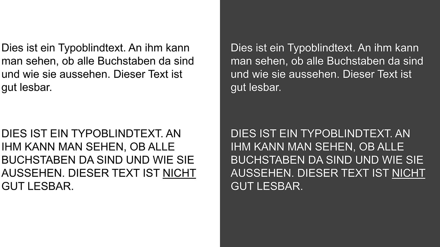powerpoint grossbuchstaben