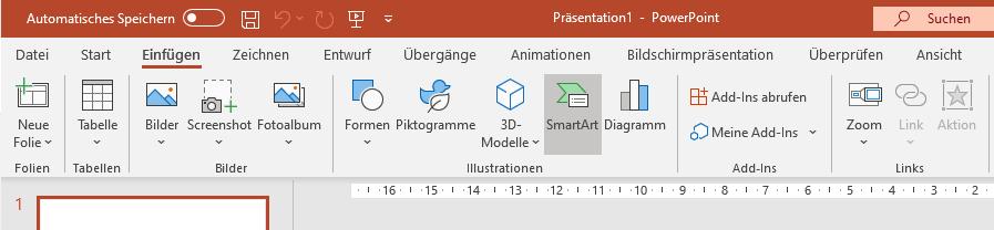 powerpoint organigramm erstellen
