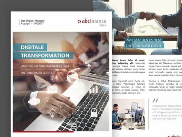 PowerPoint Präsentation MAGAZIN DIGITAL TRANSFORMATION