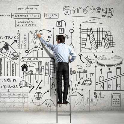 PowerPoint-Vorlagen für Strategiepräsentationen